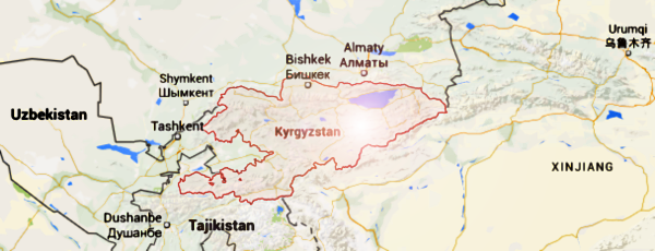 Kyrgyz Republic Map